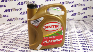 Масло моторное 5W30 (синтетика) SN/CF SINTEC PLATINUM 4L