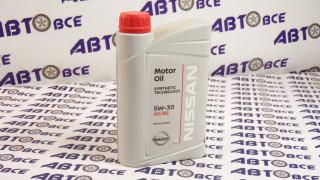 Масло моторное 5W30 (синтетика) NISSAN 1L
