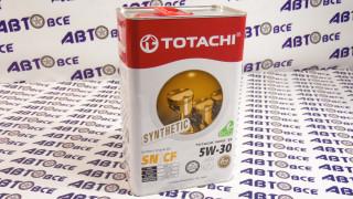 Масло моторное 5W30 (синтетика) SN/CF TOTACHI NIRO LV 4L