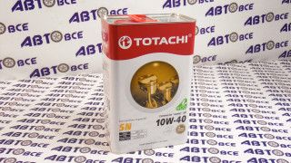 Масло моторное 10W40 (полусинтетическое) SN TOTACHI NIRO LV 4L