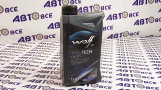 Масло моторное 5W30 (синтетика) SL/CF VITALTECH PI C3 WOLF 1L