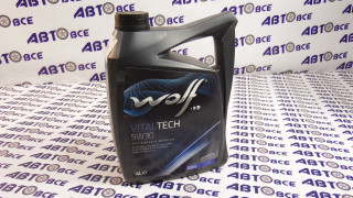 Масло моторное 5W30 (синтетика) SL/CF VITALTECH PI C3 WOLF 4L