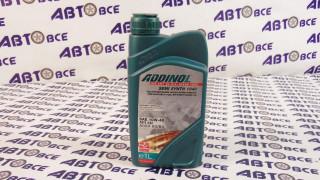 Масло моторное 10W40 (полусинтетическое) А3/В4 ADDINOL 1L