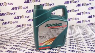 Масло моторное 5W30 (синтетика) SM/CF A3/A4 Super Power MV0537 ADDINOL 4L