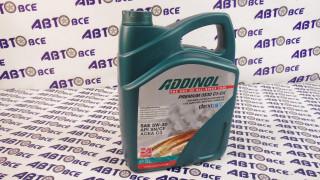 Масло моторное 5W30 (синтетика) SN/CF Premium 0530 C3-DX ADDINOL 5L