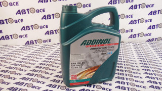 Масло моторное 5W30 (синтетика) SN/CF Premium C3-DX ADDINOL 5L
