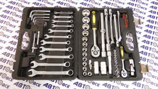 Набор инструмента  1/4-1/2 DR 6-гранный 77 предметов ТК