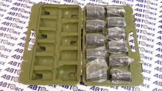 Набор головок для ручного гайковерта (11шт) ДелоТехники