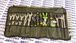 Набор головок 1/2 с инструментом 44 предмета Делотехники