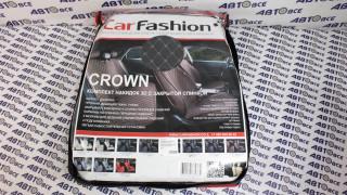 Накидки на сиденье GROWN PLUS Серый/Серый/Тёмн.Серый (велюр класса Люкс экокожа)