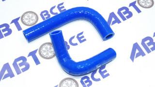 Патрубки печки (отопителя) к-т 2 шт. ВАЗ-2101-07 (карб.) 3-х сл. силикон Технопартнер