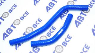 Патрубки печки (отопителя) к-т 2 шт. ВАЗ-1118 4-х сл. силикон Технопартнер