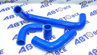 Патрубки радиатора ВАЗ-2101-07 (медного) к-т 4 шт. (4-х сл.) силикон