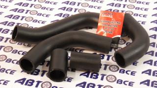 Патрубки радиатора ВА3-1102 (к-т 5шт) Волжский (СНВ)