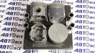 Поршневая группа (поршня-пальцы-кольца) 76.4 D (1-й рем) ВАЗ-2101-2103 Кострома