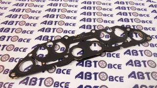 Прокладка (впуск-выпуск) коллектора ВАЗ-21074-2123 (металл) 4-х слойн. БЦМ