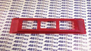 Рамка под номер ВАЗ-2108 (красная)