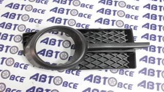 Рамка туманных фар Aveo 3 T250 правая в сборе черная POLCAR