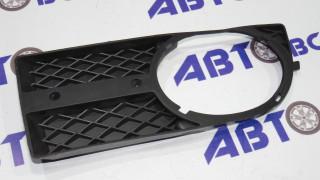 Рамка туманных фар Aveo 3 T250 левая GM (черная под хром накл)