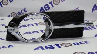 Рамка туманных фар Aveo 3 T250 правая в сборе хром JORDEN