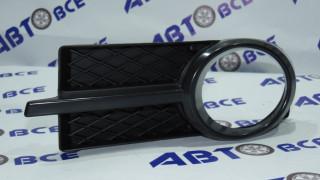 Рамка туманных фар Aveo 3 T250 левая в сборе черная SIGNEDA