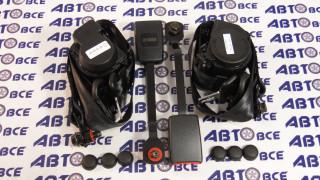 Ремни безопасности передние (к-т 2шт) ВАЗ-2110-11-12 Автоваз