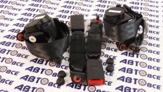 Ремни безопасности задние (к-т 2шт) ВАЗ-2101-2105-2106-2107 Автоваз