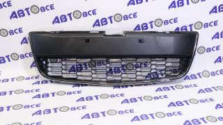 Решетка бампера (черная) Aveo T300 SAT