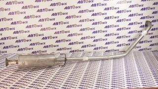 Резонатор (средняя часть) Aveo (1,2,3) нержавейка POLMOSTROW