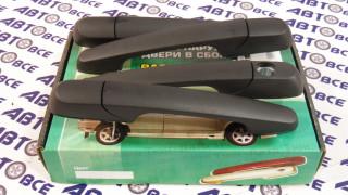 Ручки наружные евро (к-т 4 шт) ВАЗ-2109-099-14-15 (матовые) ТюнАвто