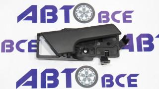 Ручка двери внутренняя (крючок) Aveo T250 правая чёрная