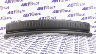 Защитная накладка заднего бампера ВАЗ-21704 Тюн-Авто