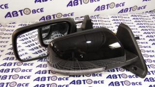 Зеркало бок.(к-т 2 шт) ВАЗ-21214 электро+поворот (к-т 2шт) черное Простаков