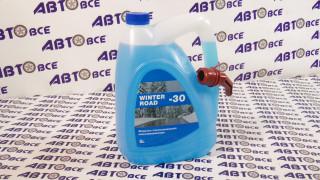 Жидкость стеклоомывателя WINTER ROAD Зима (с лейкой) 5L